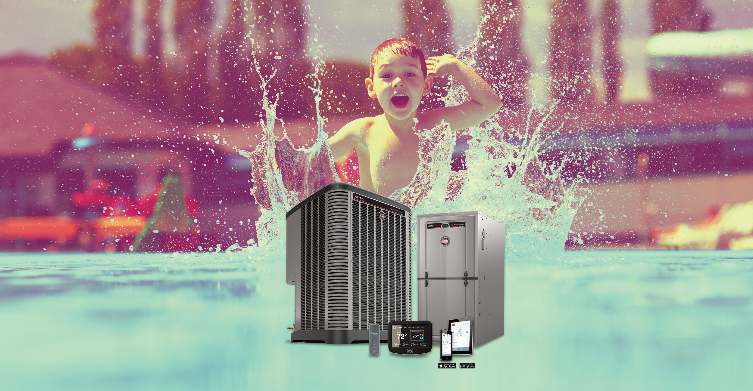 beat the heat and save on a new AC