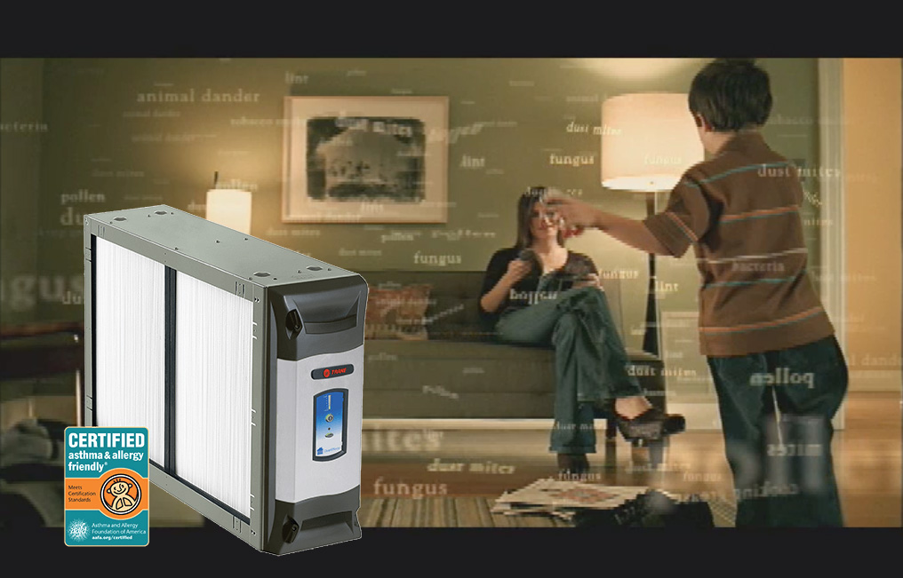 trane AIR CLEANER CleanEffects - Gastech Solutions inc